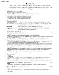Sample Objectives For Entry Level Resumes – Resume Sample
