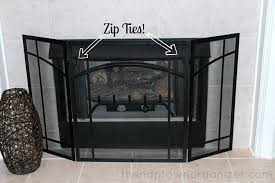 the naptown organizer secondhand sunday 8 fireplace screen
