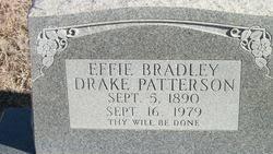 Effie Bradley Drake Patterson (1890-1979) - Find A Grave Memorial