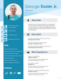 Resume Format 2018 Magnificent IT Resume Format Template 28 Free Word PDF Format Download