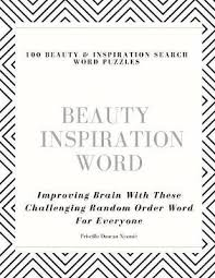 100 Beauty & Inspiration Search Word Puzzles | Priscilla Duncan Nyamie Book  | In-Stock - Buy Now | at Mighty Ape NZ