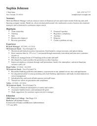 Bank Branch Manager Resume Simple Bank Manager Resume Branch Manager Resume Bank Branch Manager Resume