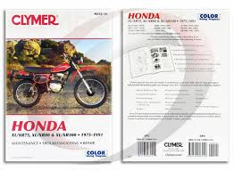 honda xr repair manual clymer m service shop 1979 1984 honda xr80 repair manual clymer m312 14 service shop garage