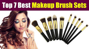 top 7 best makeup brush sets in india at lowest