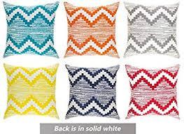 Modern Homes Multi-<b>Color</b> Vibrant Throw Pillow Covers <b>16</b> x <b>16</b> ...