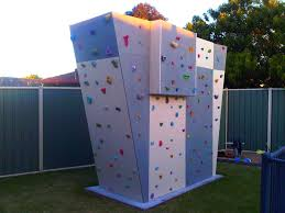 outdoor climbing wall plans