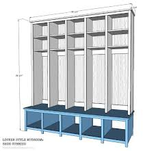 build these locker style mudroom shoe cubbies for your space with an organized system all the shoes jackets and things have a place