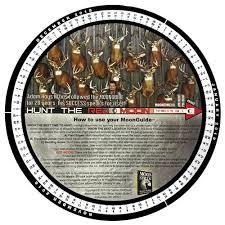 46 Detailed Lunar Chart For Deer Hunting