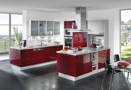Imagenes De Cocinas Blancas Y Rojas