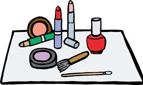 cartoon makeup clipart