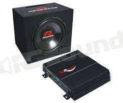 Renegade RBK550 Kit Subwoofer + Amplificatore | Subwoofer - Subwoofer :: RG  Sound Store ::