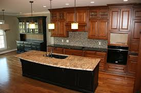 staining kitchen cabinets lighter