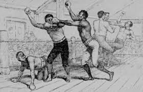 negro battle royal question of the month jim crow  battle royal cartoon image