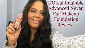 get ations base l oreal infallible advanced never fail makeup foundation