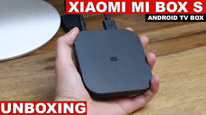 Xiaomi Mi Box S (Android TV 8.1) Unboxing - YouTube