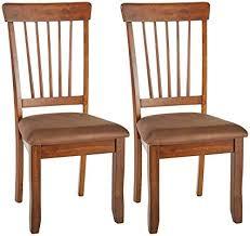 ashley furniture signature design berringer dining side chair spindle back set of 2