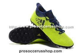 adidas x 17 3. adidas x 17.3 tf soccer shoes - volt/dark blue web 17 3