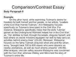 Example Of A Comparison And Contrast Essay Comparing And Contrasting Compare Contrast Essay Format And