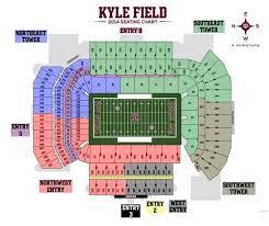 New Kyle Field Seating Chart Williams Brice Stadium Seating
