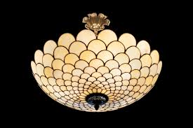 image of stained glass ceiling light models