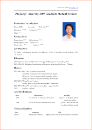 15 cv template for university students event planning template 15 cv template for university students
