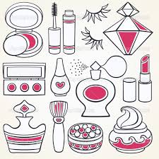 makeup kit s clipart drawing