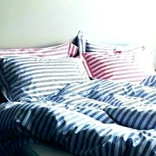blue stripe duvet cover covers small size of red striped and white navy blue and white striped duvet cover