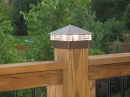Solar Deck Post Lights Solar Lights For Deck Railings White Solar Deck Post  Lights 4x4 .