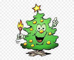 christmas tree lights cartoon clipart