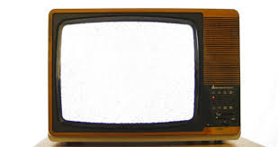 retro tv screen. slow zoom into vintage 1970s television. 76 years of television history came to an end retro tv screen e