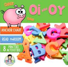Oi Oy Anchor Chart Oi Oy Phonics Activity Pack