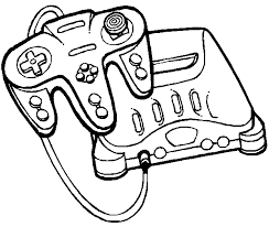 Small Picture Video Game Coloring Pages Game Coloring Pages Crafty Page Game
