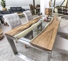 Der Tischonkel Designertisch Massivholztisch Mit Glas Und