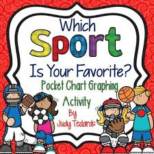Which Sport Is Your Favorite A Pocket Chart Graphing Activity