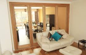this oak bi folding door single glazed is a great internal door leading to
