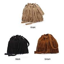 <b>Retro Shoulder Bag Vintage</b> Tassel Cross Body Bag <b>Women</b> ...