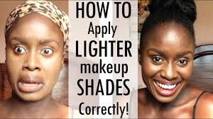 how to make light foundation or concealer match your skin tone
