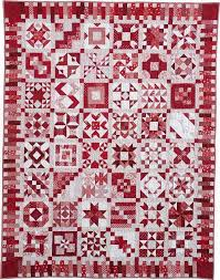 315 best Red and white quilts images on Pinterest | Patchwork ... & 100 Blocks Sampler Quilt (Red and White). Made with blocks from Quiltmaker. Adamdwight.com