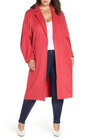 winter long coats plus size