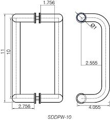 Commercial Door Handles Interconnected Lock To Design Collection in