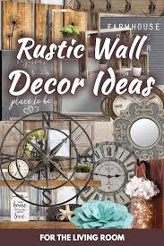 20 rustic wall decor ideas for the