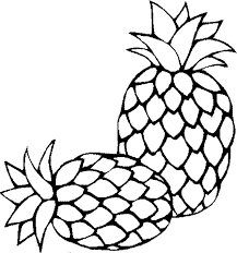 Small Picture Two Fresh Sugarloaf Pineapple Coloring Page Download Print