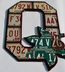 art images about ohio state buckeyes wall block o folk fan art license plate hanging