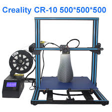 creality cr 10 3d printer diy kit build size 500 500 500mm with 2kgs pla filament free