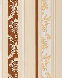 Behang Barok Damast Edem 053 21 Strepen Behang Vinyl Klassiek Bruin