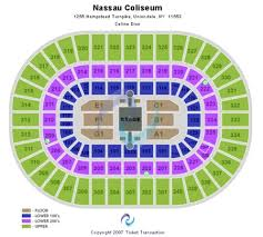 Nassau Coliseum Tickets And Nassau Coliseum Seating Charts