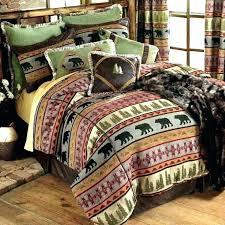 rustic cabin bedding canada