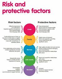 Risk And Protective Factors Chart Risk And Protective Factors That Influence Childrens