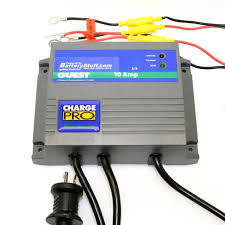 Guest 12/24V 10A 2 Bank Charger #2611A