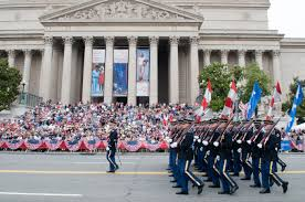 memorial day club vip sd u s army iers during the national memorial day parade in washington d c